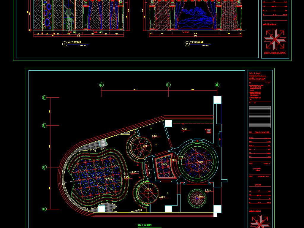 室内装修图设计方案布置ktv量版式ktv夜店酒店ktv休闲娱乐会所娱乐