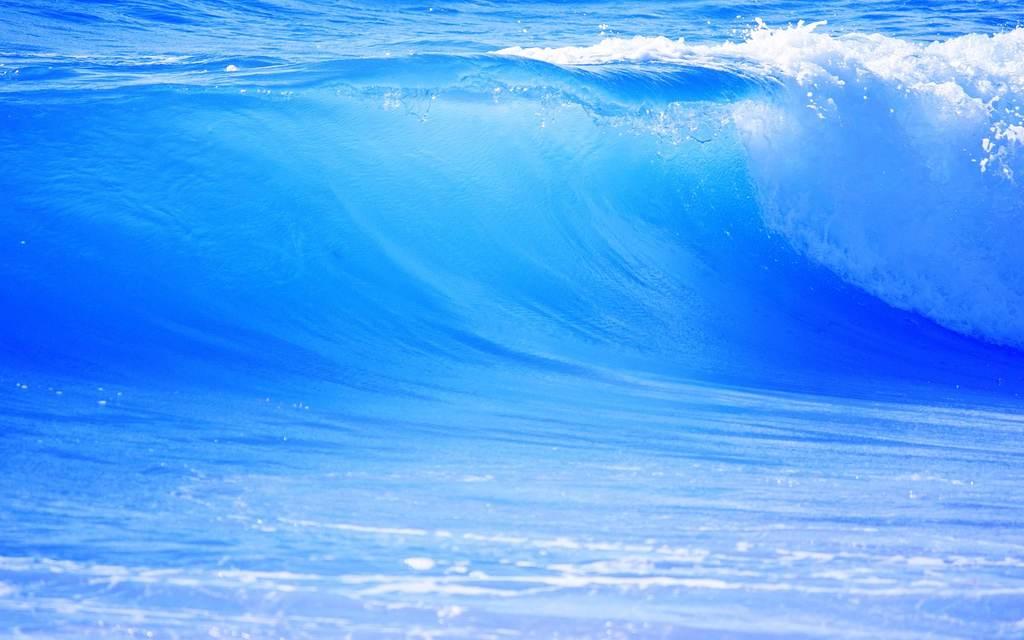 大海图片手绘色彩