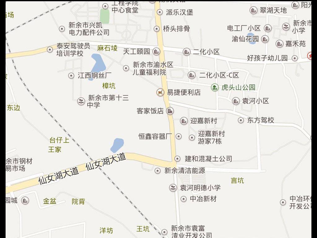 2017新余市电子地图图片下载