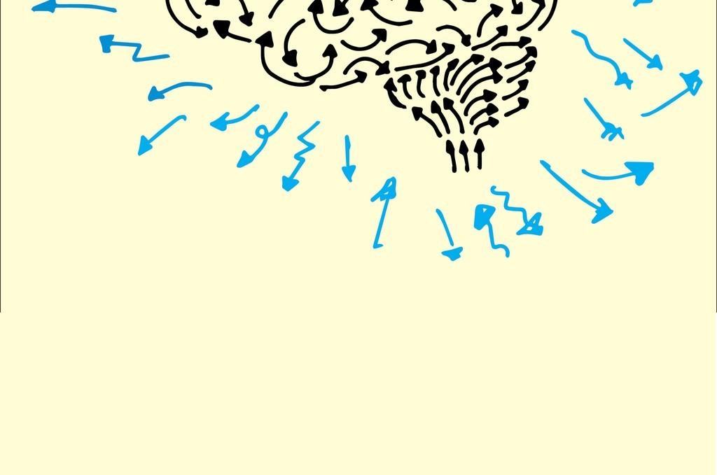 大脑插画素材