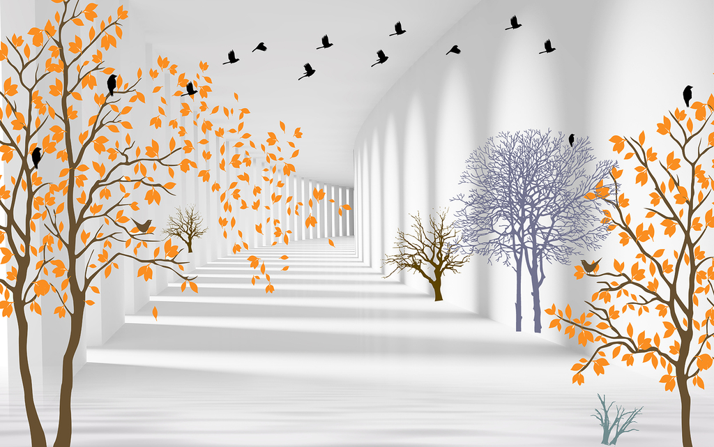 3d空间手绘抽象树树图片设计素材_高清psd模板下载(52