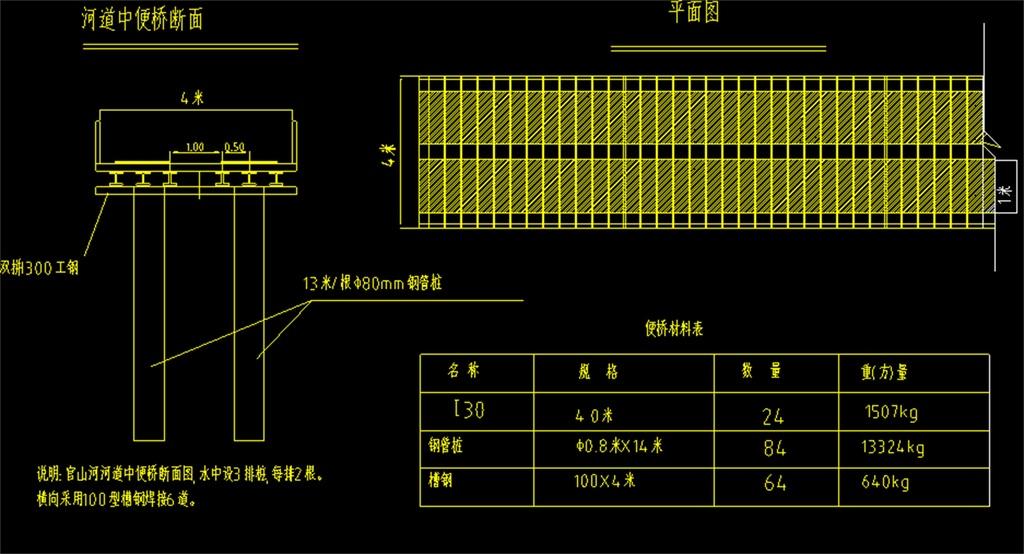 小型桥梁cad建筑施工图桥设计图桥设计cad平面图库汽车cad平面图家装