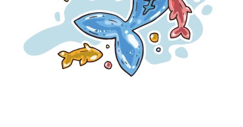 元素装饰图案卡通壁纸                                  海洋生物