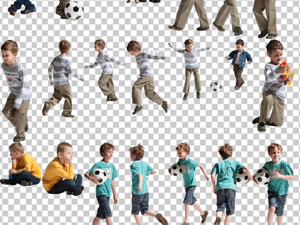 足球人物画画图片