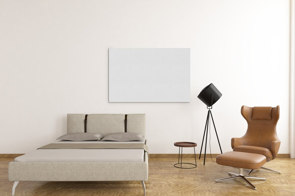 北欧现代简约背景墙画框模板图片