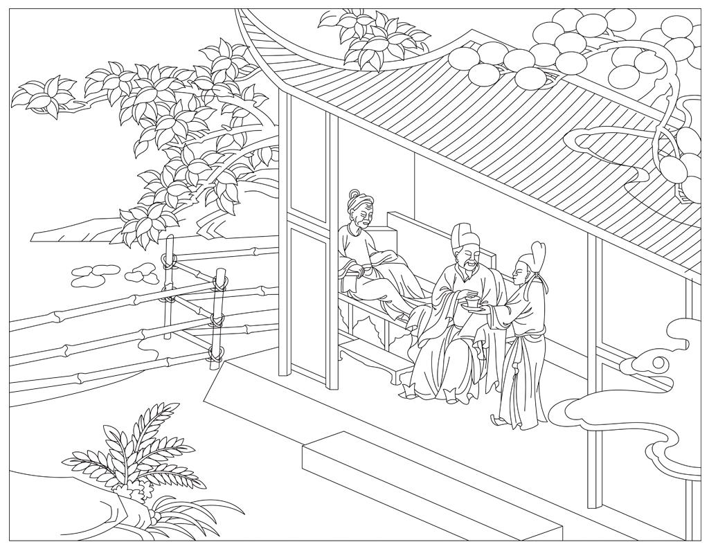 工程图 简笔画 平面图 手绘 线稿 1024_796