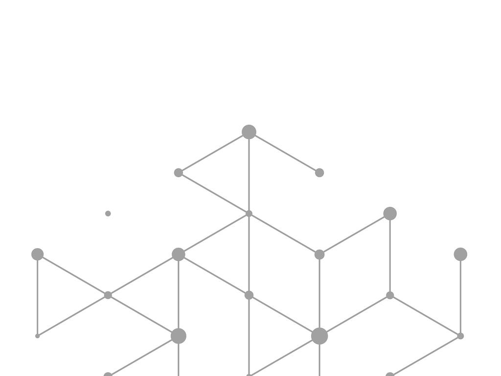 ppt抽象几何素材