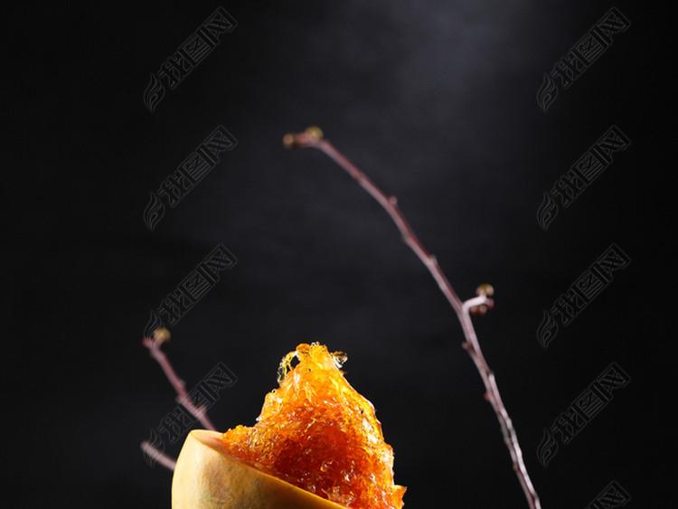 养生美食极品燕窝泰国木瓜炖血燕