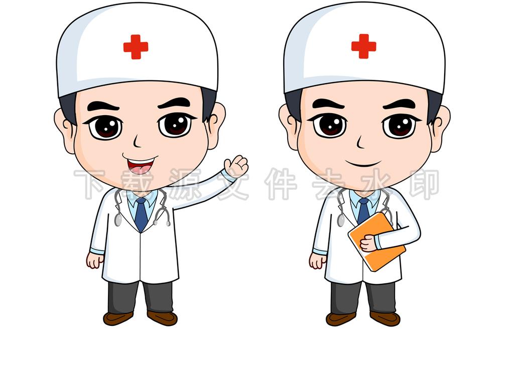 原创卡通医生高清图