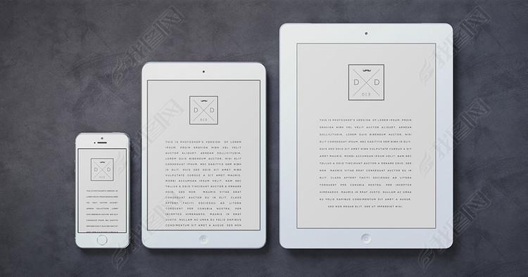 iPad手机电子产品样机