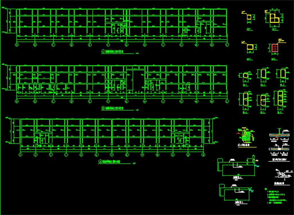 我图网提供独家原创钢结构厂房CAD设计图正版素材下载, 此素材为原创版权图片,图片,图片编号为16571107,作品体积为,是设计师QQ9A61D551在2017-06-05 13:40:16上传, 素材尺寸/像素为-高清品质图片-分辨率为, 颜色模式为,所属CAD图纸分类,此原创格式素材图片已被下载1次,被收藏77次,作品模板源文件下载后可在本地用软件 AutoCAD 2006(.