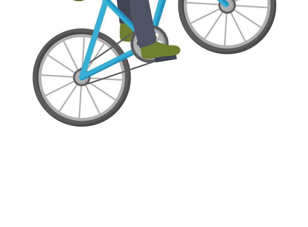 卡通人物骑自行车图片素材 ai模板下载 0.24MB 儿童大全 人物形象图片