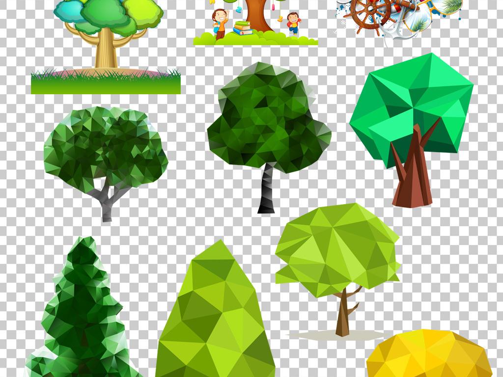 园林素材                                  绿色植物