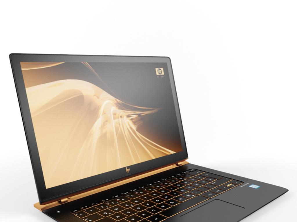 惠普笔记本电脑3d模型
