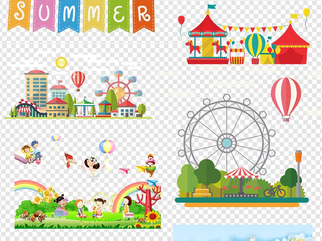 相册边框教育学习幼儿园卡通边框彩虹边框