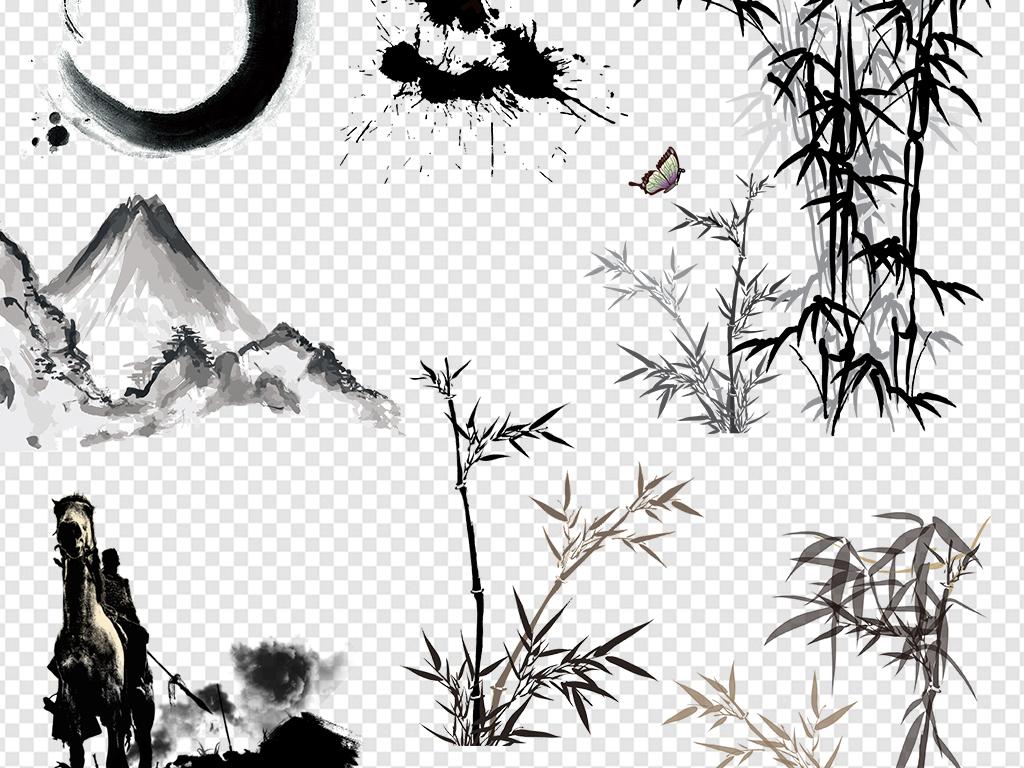中国山水山水竹子简笔画卡通简笔画简笔画素材儿童简笔画简笔画图片