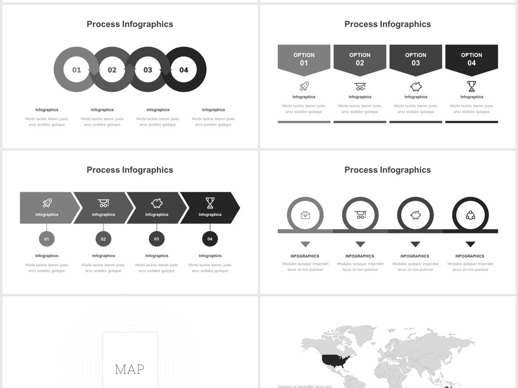 极简主义黑白简约风企业介绍独特ppt模板图片