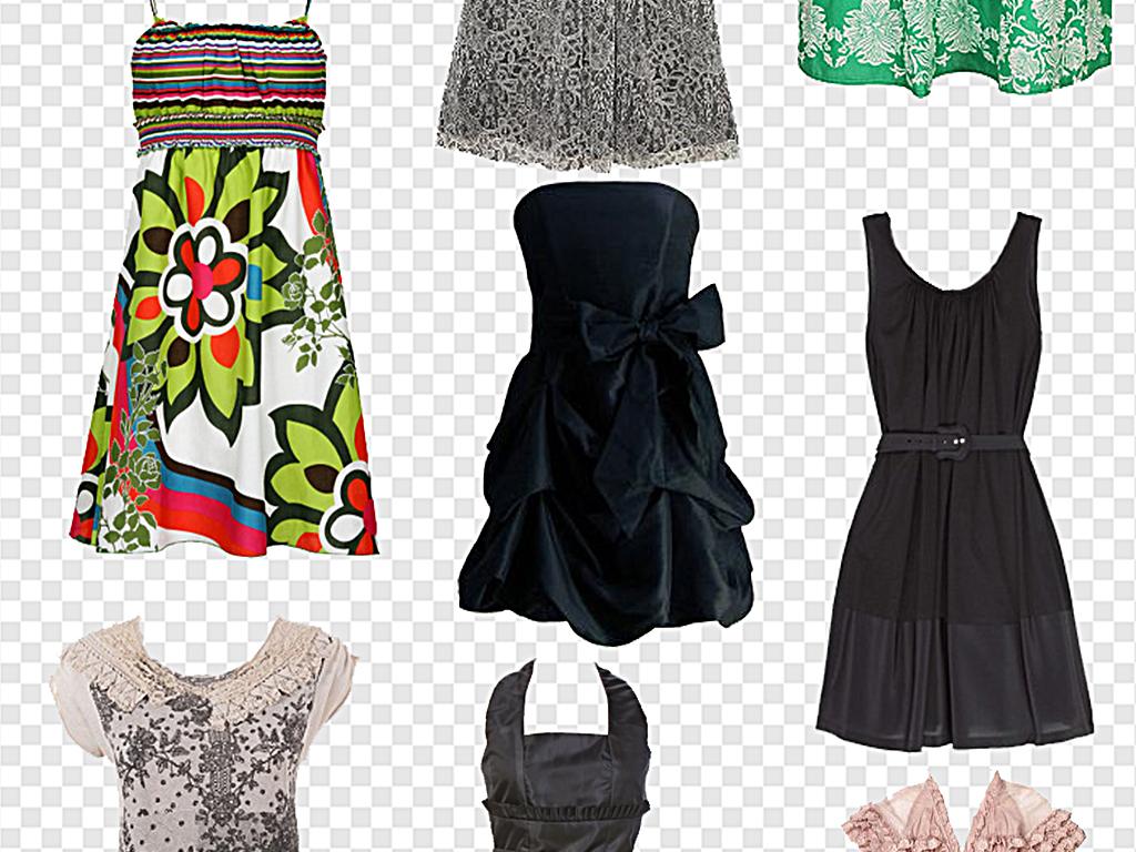 时尚女装连衣裙真丝连衣裙图片