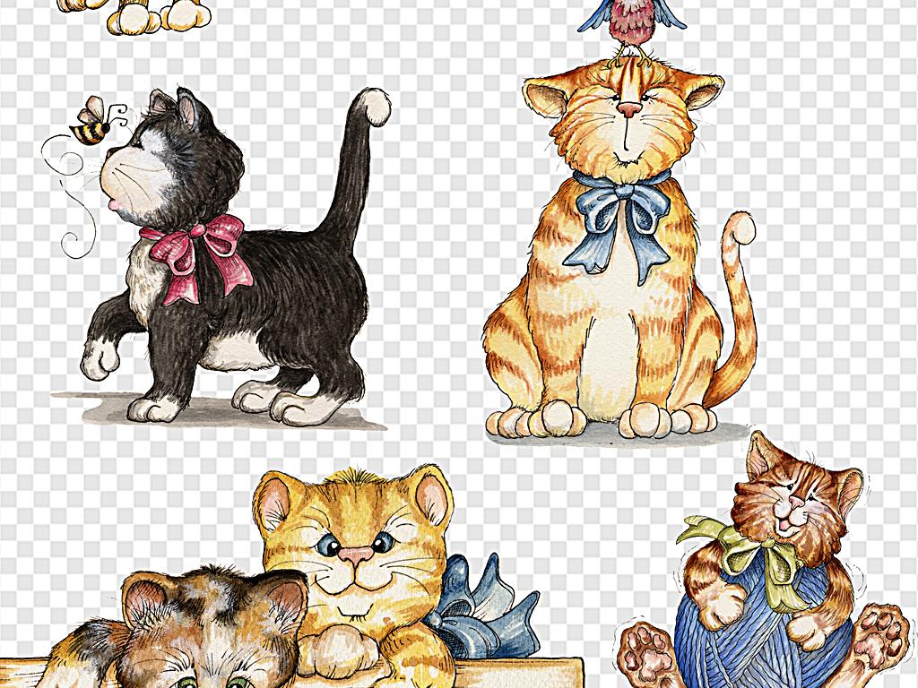 可爱猫咪卡通猫咪