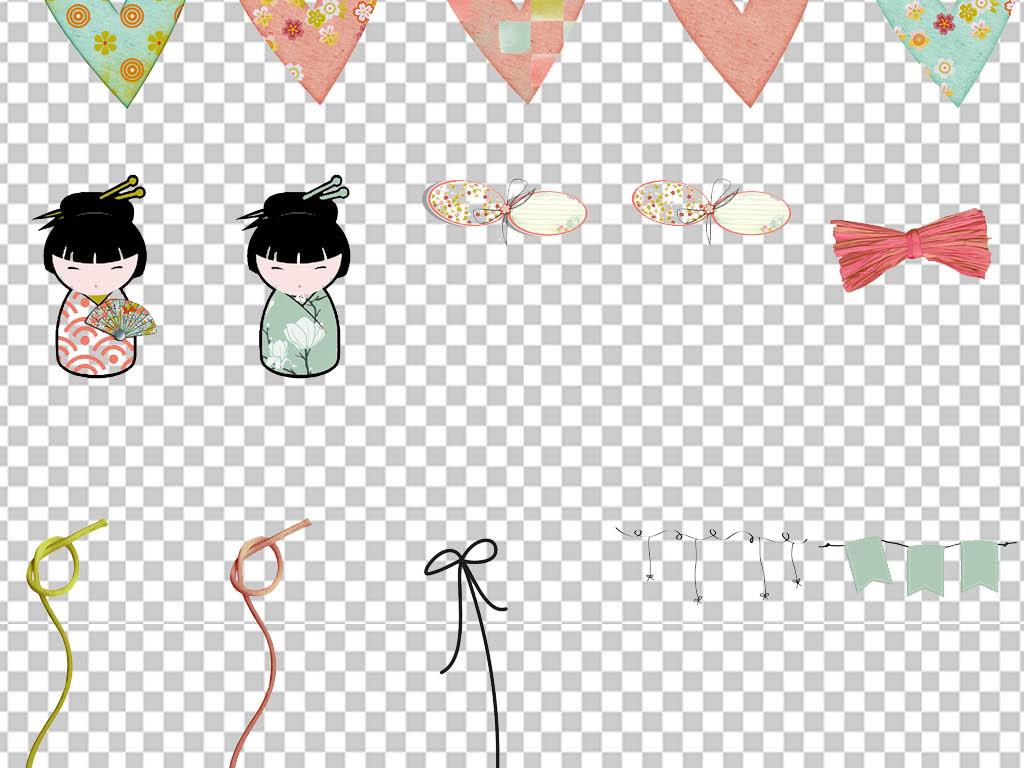 水彩可爱点缀可爱卡通花纹边框卡通边框图片卡通花边框简单卡通边框