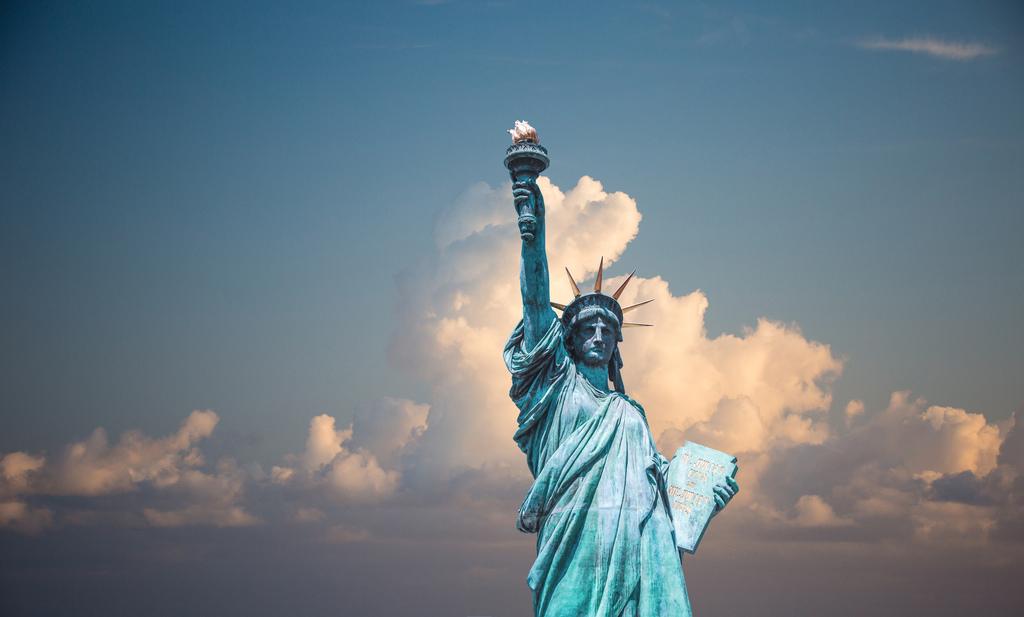 纽约自由女神像4K风景图片素材图片下载素材 其他