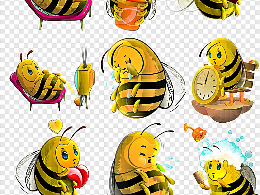 卡通小蜜蜂可爱蜜蜂