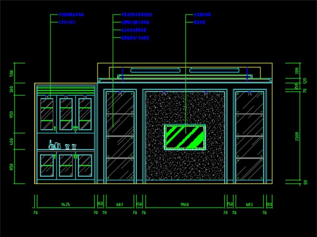 cad图库 室内设计cad图库 cad图纸 > 某歌剧院ktv装修cad平面图  版权