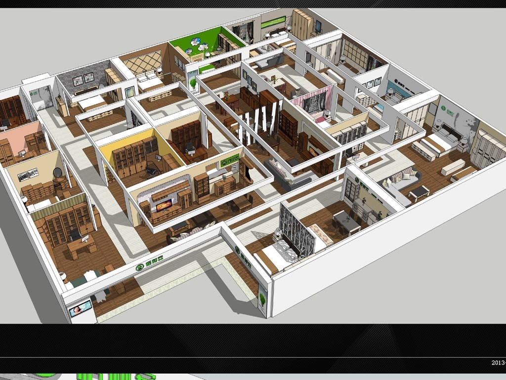 模型资料含cad平面图室外su模型su模型skp模型环艺模型建筑草图大师