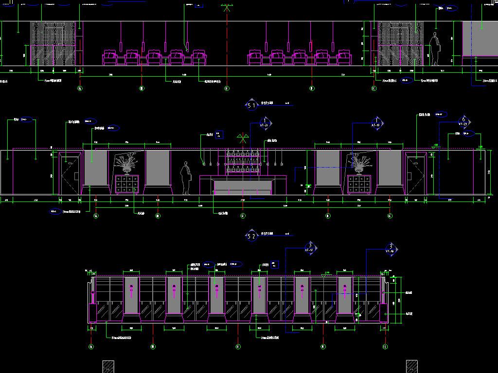 办公楼CAD建筑设计图
