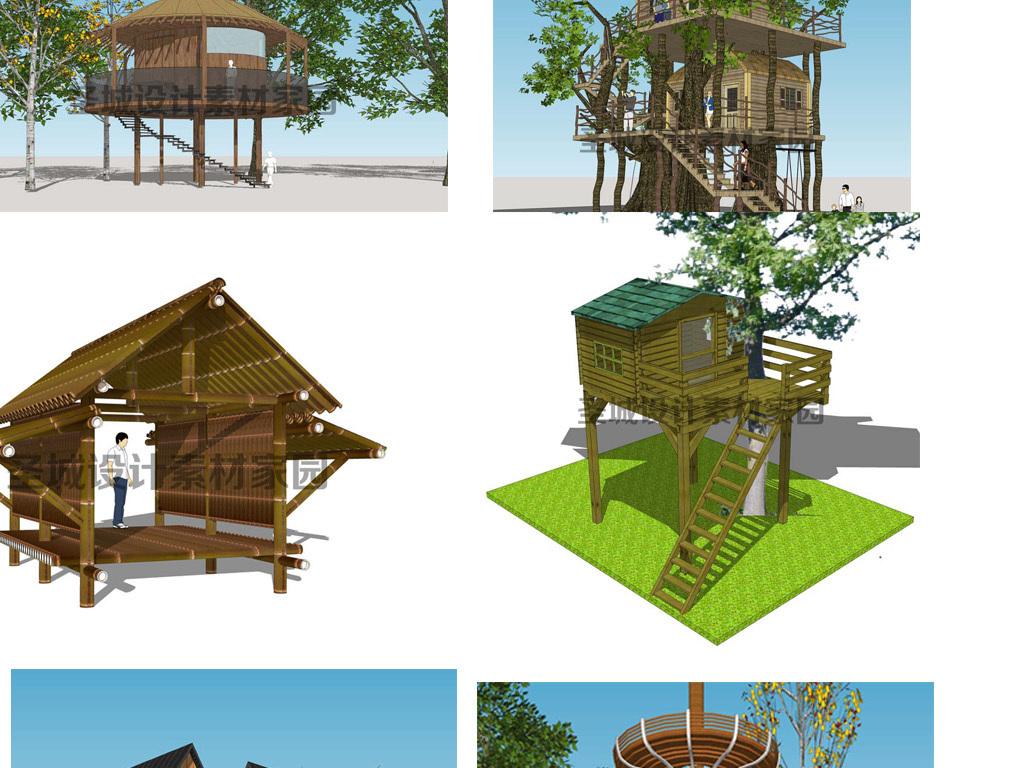 创意树屋室内设计室内效果图室内装饰室内装修室内装饰画3d室内效果图