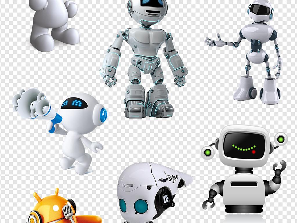 卡通机器人素材图片_模板下载(38.25mb)_动漫人物大全