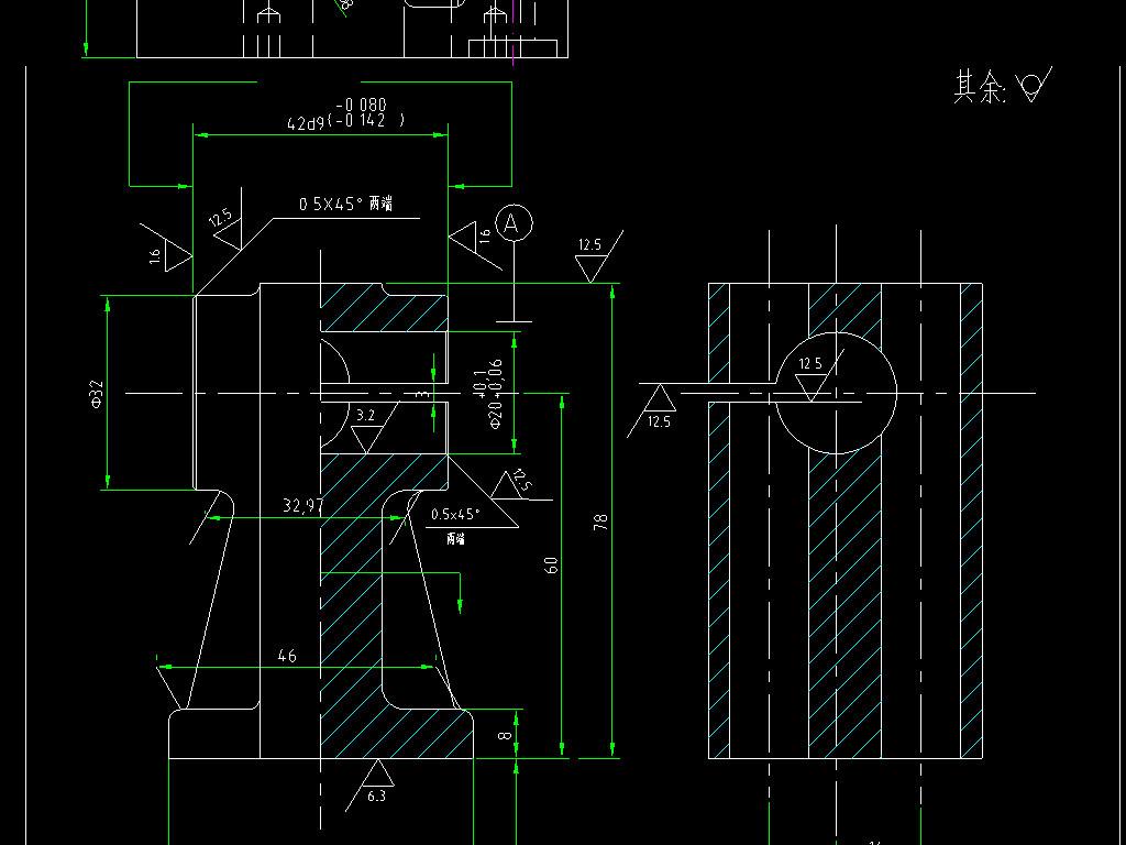 我图网提供精品流行 八套机械零件CAD设计图素材 下载,作品模板源文件可以编辑替换,设计作品简介: 八套机械零件CAD设计图, , 使用软件为 AutoCAD 2006(.dwg) 支架 拨叉 连杆 气门摇杆轴支座 升降架 摇臂 摇杆 机械零件 机械图纸 机械零件CAD平面布置图 CAD设计方案 大样图 节点祥图 结构示意图 安装图 装配图 结构图纸 机械 零件 设计图