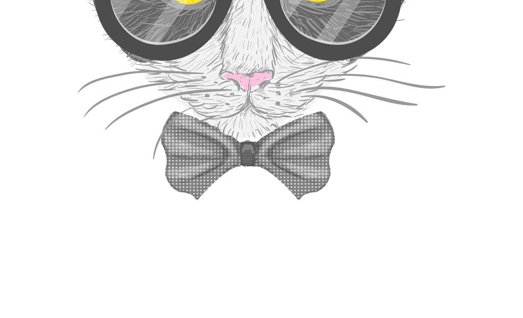 猫咪卡通动物头像