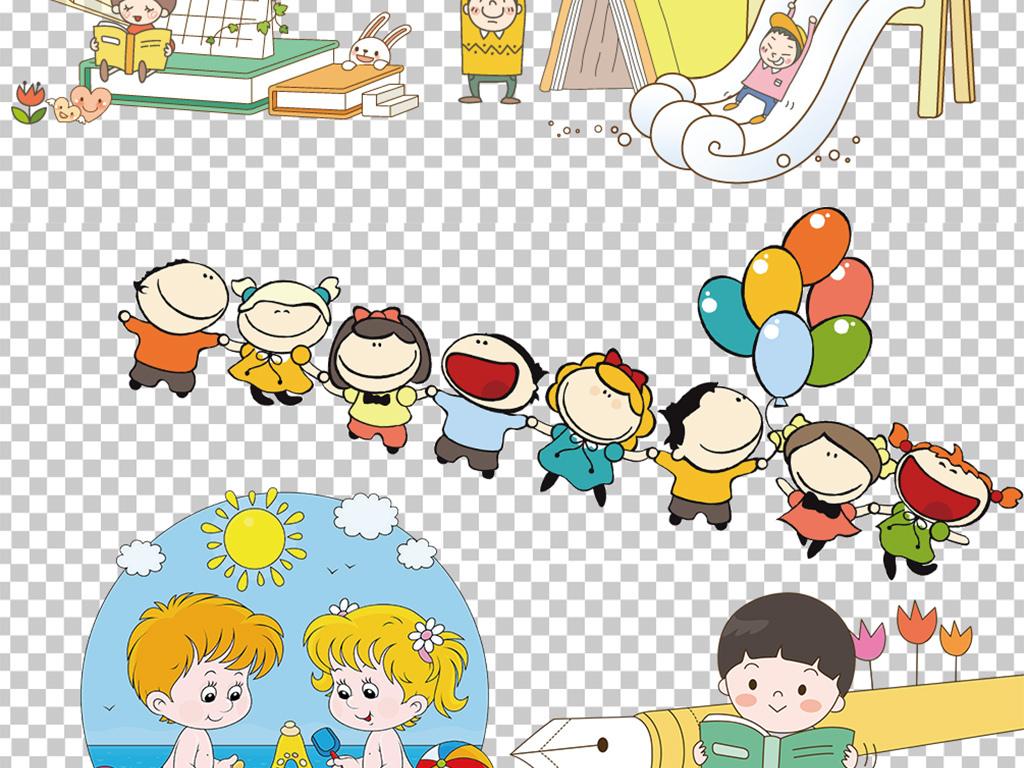 幼儿卡通图片素材幼儿安全教育
