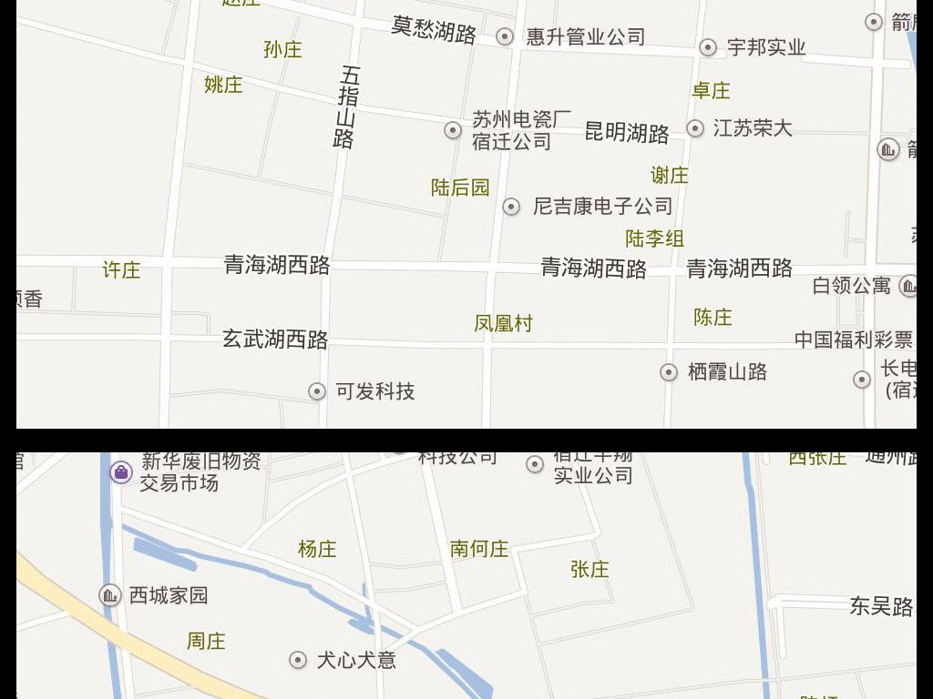 2017宿迁市电子地图图片下载