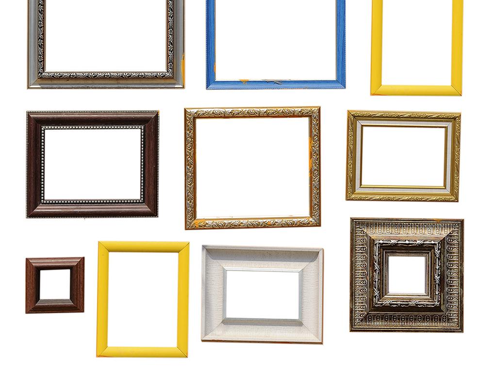 经典欧式油画框边框图片下载素材-装饰图案-我图网