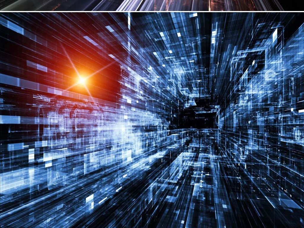 电子科技集成电路板高清图片