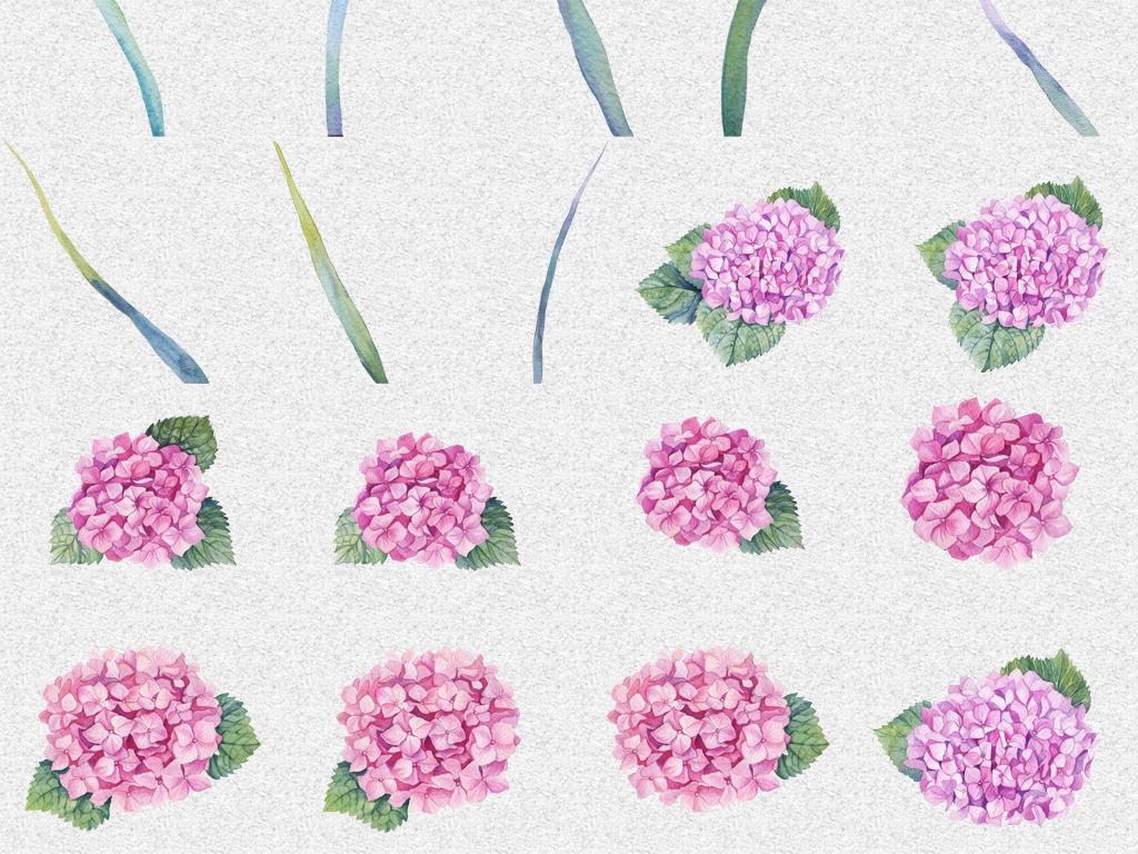 花环海报装饰花卉森系花朵小清新