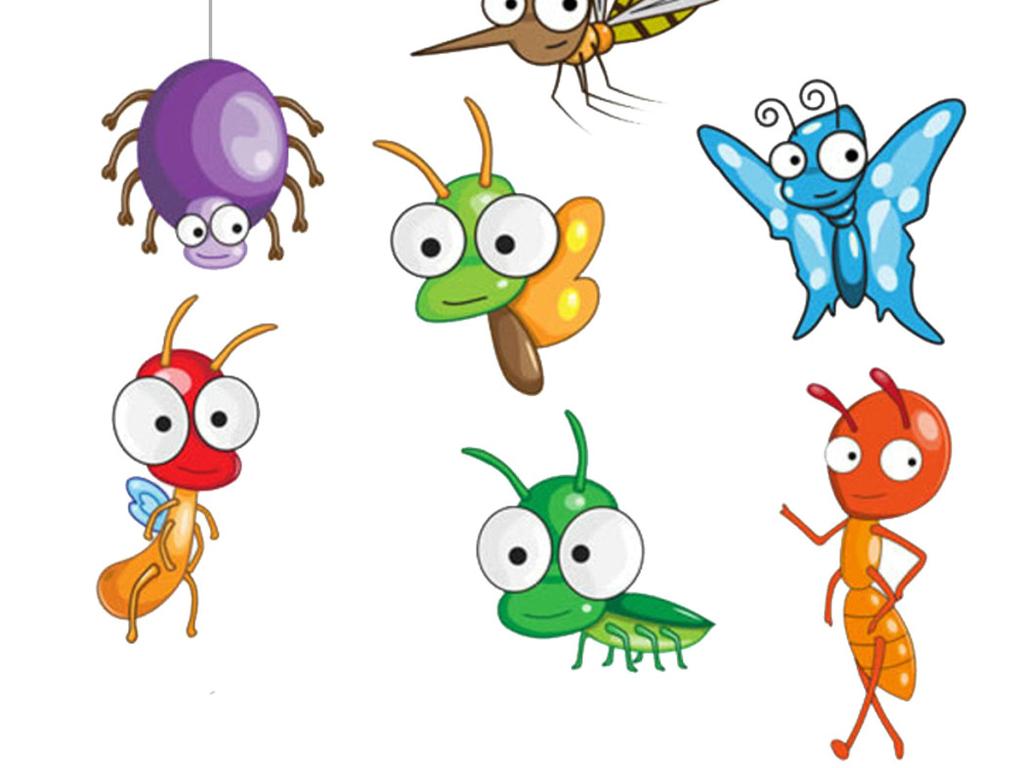 设计元素 背景素材 其他 > 昆虫卡通免抠素材png