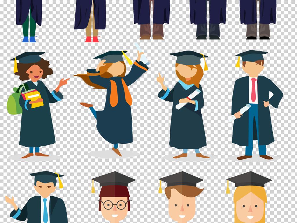 博士服博士毕业生幼儿园毕业学生毕业证书学士帽毕业照图片
