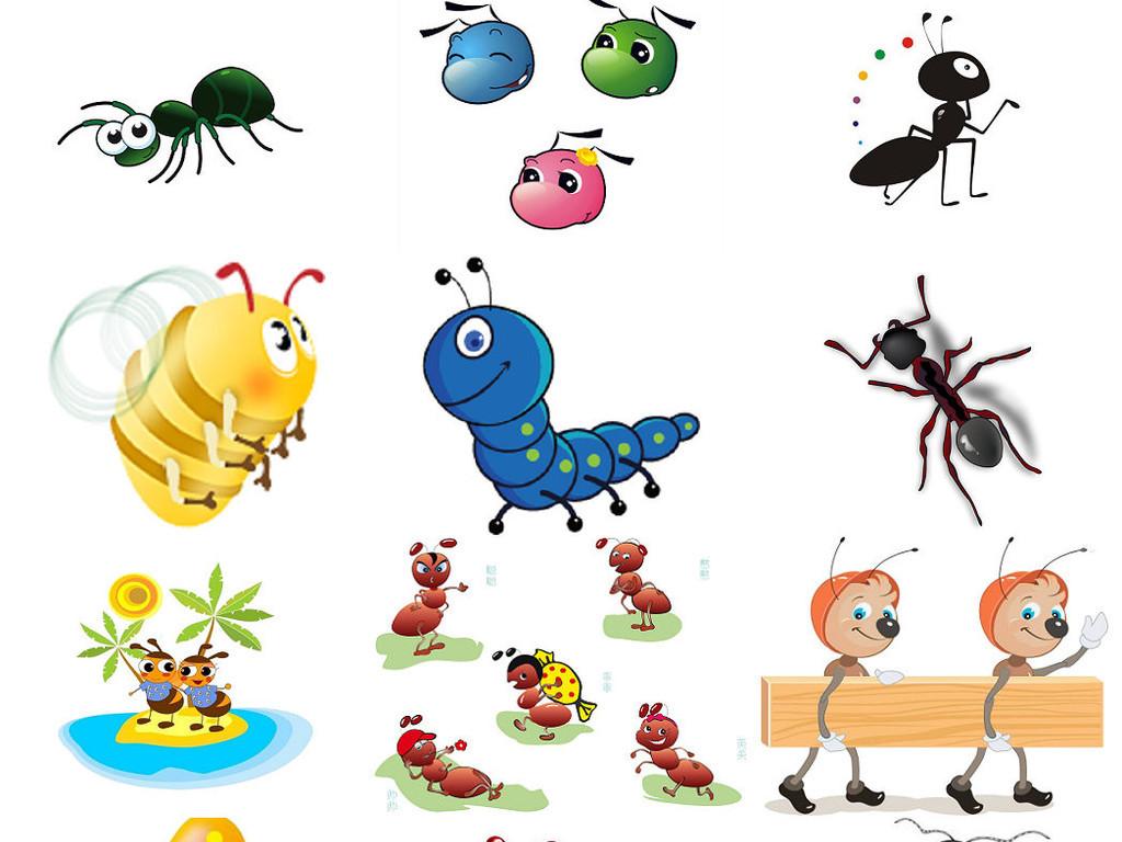 卡通形象小蚂蚁海报设计素材3