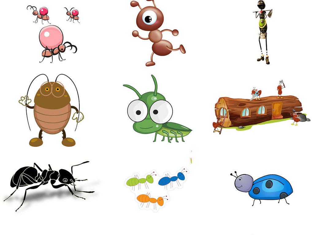 昆虫类动物蚂蚁免抠图片素材png系列3