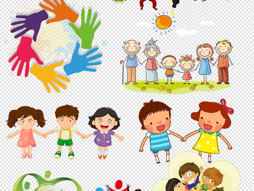 幼儿卡通图片素材幼儿安全教育六一儿童节海报