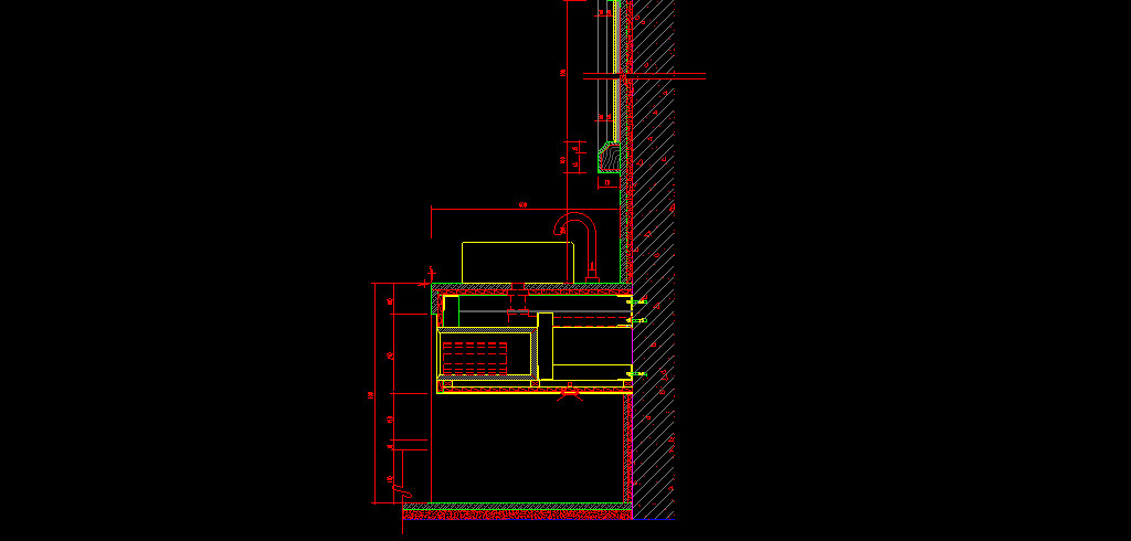 台盆柜cad节点详图平面设计图下载(图片1.75mb)_cad