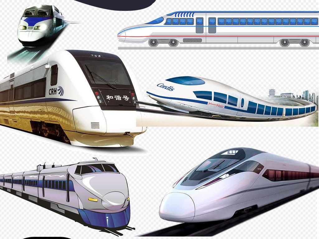 卡通火车高铁图片火车图片设计元素海报素材动漫动动车组图片动车组背