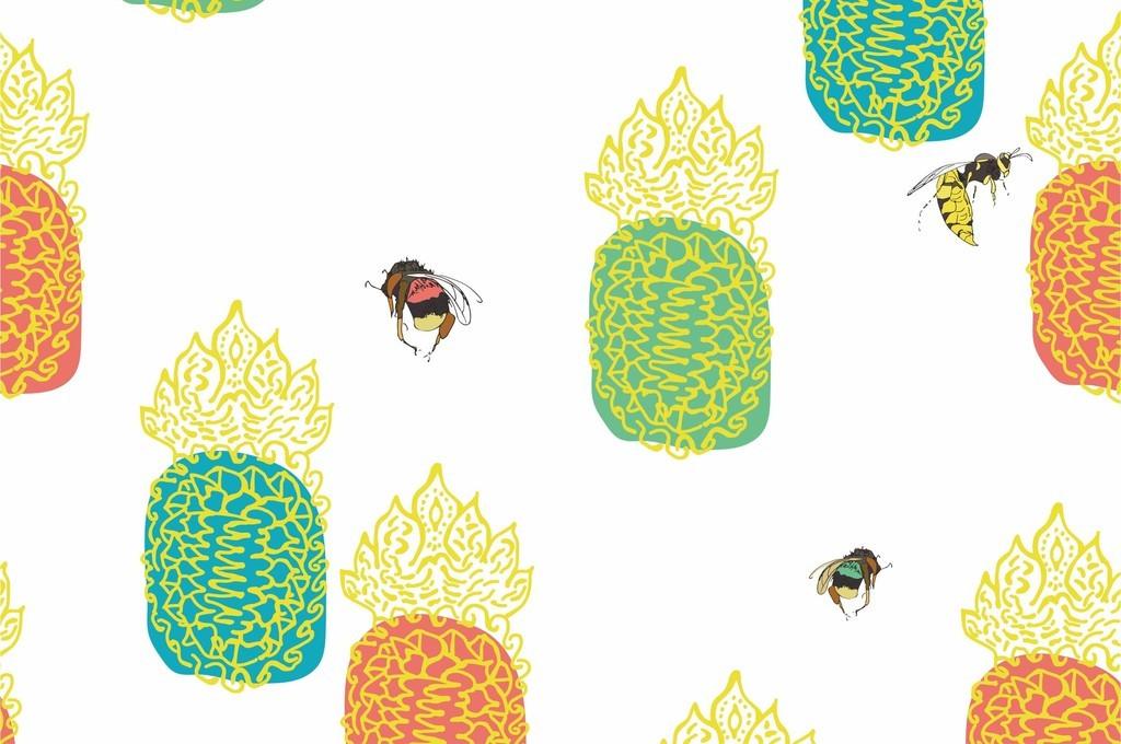 所属类别:卡通图案 分享 :  我图网提供独家原创卡通动物蜜蜂美食世界