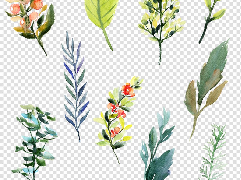 素材花卉花环素材png图片素材复古底纹欧美复古欧式复古复古装饰画