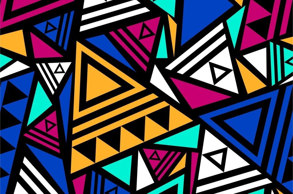 规则图形画图-几何图形无规则图形印花图案素材图片下载ai素材 花纹图片
