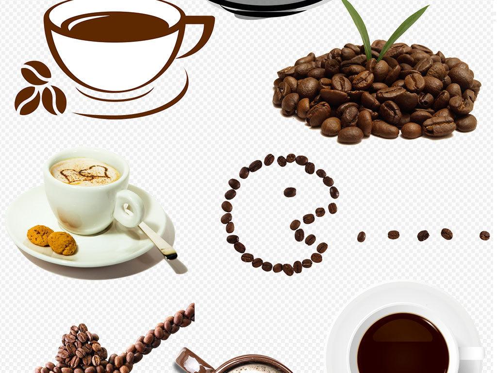 咖啡手绘图片png格式