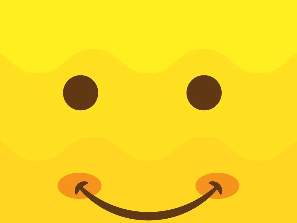 卡通图案笑脸